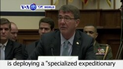 VOA60 World - US to Send 'Specialized' Force to Iraq to Fight IS
