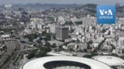 Le stade mythique du Maracana à Rio de Janeiro transformé en hôpital