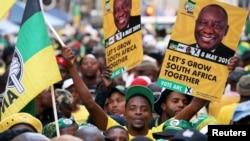 Abalandeli bebandla leAfrican National Congress.