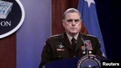 Tướng Mark Milley, Chủ tịch Hội đồng Tham mưu trưởng Liên quân Hoa Kỳ.