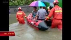 Trung Quốc: Ít nhất 44 người chết vì bão Lekima