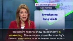Phát âm chuẩn - Anh ngữ đặc biệt: China's Economy Continues Decline (VOA)