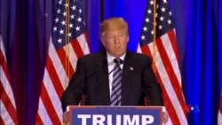 2016-03-06 美國之音視頻新聞: 美國四名總統參選人再有斬獲 川普克林頓仍領先