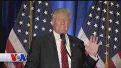 """Tramp: """"Islomiy davlat"""" Obama va Klintonning ishi"""