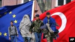 اروپایي اتحادیه د ترکیې نه غواړي چې د یونان نه د مهاجرینو اخیستل بیرته پیل کړي.