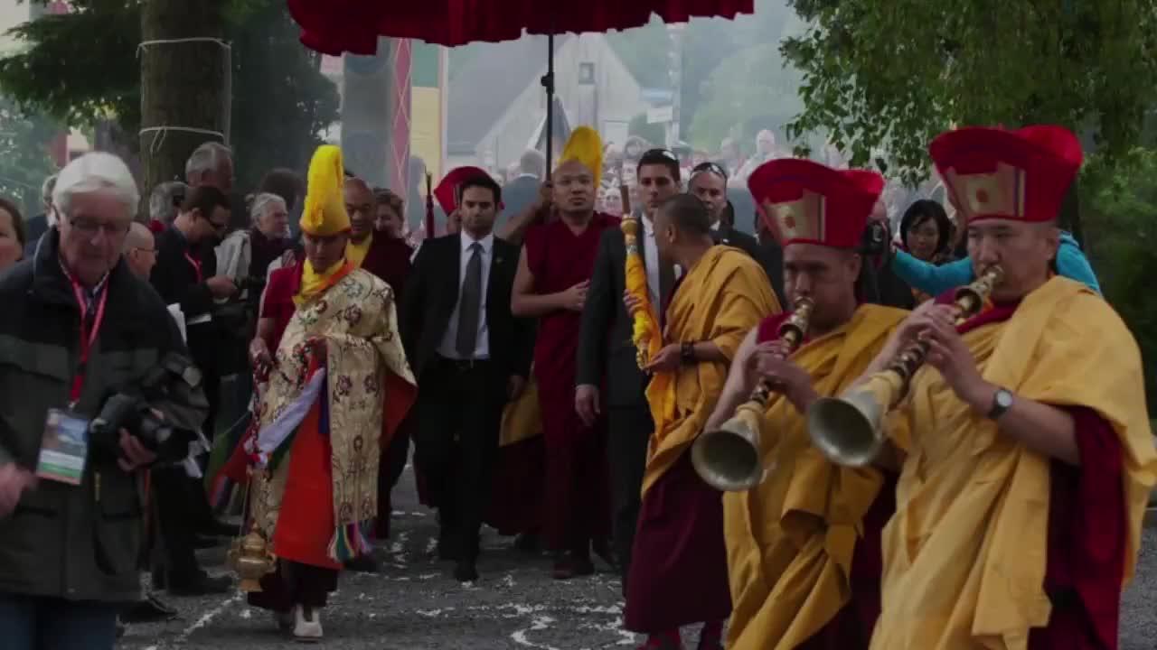 The 17th Karmapa's First European Visit