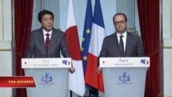 Pháp, Nhật Bản ủng hộ tự do hàng hải ở châu Á-Thái Bình Dương