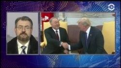 Вице-президент США встретился с президентом Казахстана
