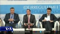 Tiranë, forum ekonomik me përfaqësues të biznesit dhe politikës