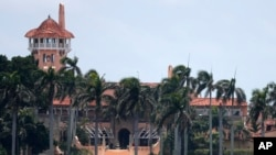 FILE - President Donald Trump's Mar-a-Lago estate in Palm Beach, Florida.