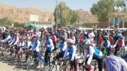 رقابت بانوان بایسکلران افغان برای راهیابی به تیم ملی