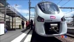 2014-05-21 美國之音視頻新聞: 法國新鐵路列車車身太寬與月台不兼容