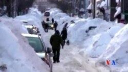 2015-02-18 美國之音視頻新聞: 美國東部遭遇創紀錄降雪嚴寒