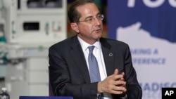 美國衛生部長阿扎爾。