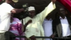 New Gambian President Takes Oath at Embassy in Senegal