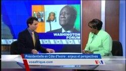 Washington Forum du jeudi 22 octobre 2015 : Enjeux et perspectives de la présidentielle ivoirienne