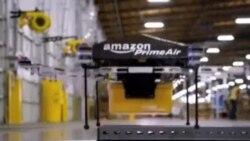 Amazon prueba mini-drones para entregar paquetes