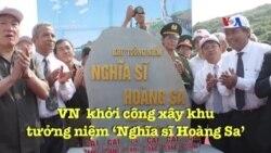Việt Nam khởi công xây khu tưởng niệm 'Nghĩa sĩ Hoàng Sa'