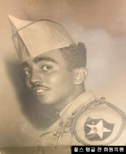 찰스 랭글 전 하원의원은 20살이었던 1950년 7월 미 제2사단 503 포병대대 소속으로 한국전쟁에 참전했다. 사진 제공: 찰스 랭글 전 하원의원.