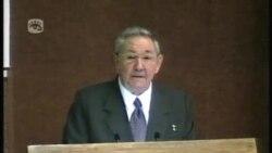 勞爾卡斯特羅再當選古巴國務委員會主席
