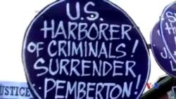 2014-10-22 美國之音視頻新聞: 涉嫌殺人的美國軍人被移交菲律賓軍方
