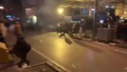 اعتراضات در نزدیکی پوهنتون امیر کبیر