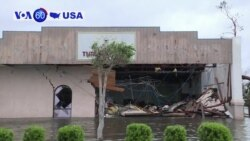 VOA60 America - Florida Turns to Cleanup After Powerful Hurricane Michael