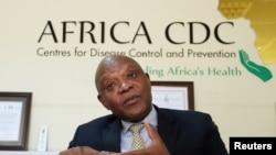 John Nkengasong, umuyobozi w'ikigo CDC kijejwe gukurikirana indwara muri Afrika.