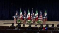 川普政府開始重新談判NAFTA程序(粵語)