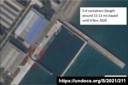 유엔 안보리 대북제재위원회 전문가 패널이 보고서를 통해 북한 신포조선소에서 지속적인 활동이 관측되고 있다고 지적했다.