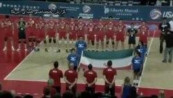 دیدار دوستانه تیمهای ملی والیبال ایران و آمریکا – ۴