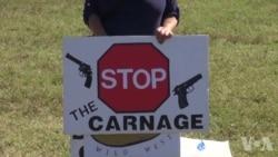 美大学生呼吁严格控枪减少校园暴力