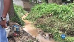 Na província angolana de Malanje, as fortes chuvas deixaram muita gente desajolada