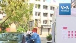 Coronavirus: premier centre de dépistage automobile en Inde