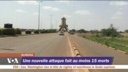 Une nouvelle attaque fait au moins 15 morts