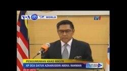 VOA60 Duniya: Gwamnatin Malasiya Tace Jirgi Mai Lamba MH370 Hatsari Yayi, Malasiya, Janairu 29, 2015