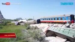 Thanh Hóa: Lật tàu hỏa, 2 người chết