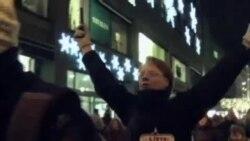诺贝尔和平奖仪式在抗议声中进行