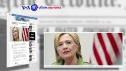Manchetes Americanas 30 Agosto: Hillary Clinton e Donald Trump têm debate marcado