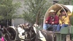 休斯顿牛仔节马蹄声中揭幕