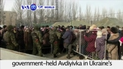 VOA60 World PM - Ukraine: Separatist shelling disrupts humanitarian aid delivery