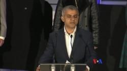 倫敦選出首位穆斯林市長