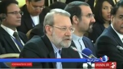 لاریجانی در اجلاس اوراسیا در مسکو: در مقابل تحریمهای غرب متحد شویم
