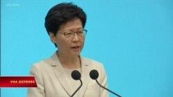 Lãnh đạo Hong Kong xin lỗi dân chúng