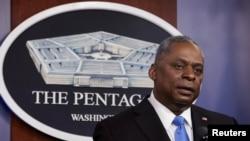 ARHIVA - Američki sekretar za odbranu Lojd Ostin