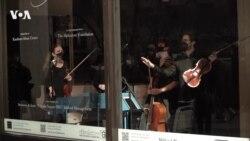 Концерт в витрине