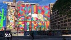 როდრიგო კობრას მურალი, ნიუ-იორკი