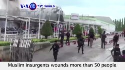 VOA60 World - Thailand: Car bomb from suspected Muslim insurgents wounds more than 50 people