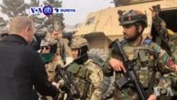 VOA60 DUNIYA: Kwamandan Sojan Amurka Pat Shanahan Ya Kai Ziyara A Kasar Afghanistan A Jiya Litinin
