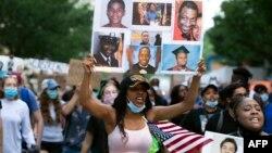 Демонстрації проти жорстокості поліції, Вашингтон, 10 червня 2020
